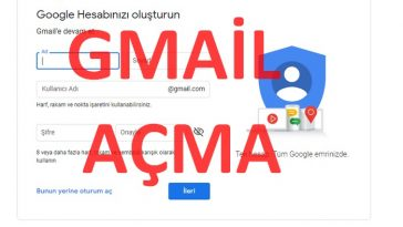 Gmail aç