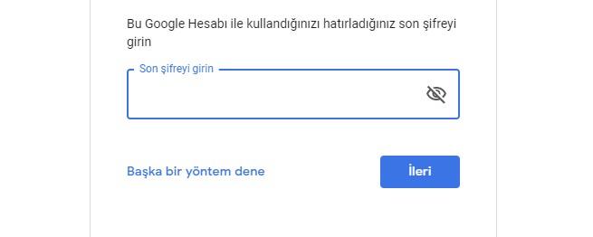 gmail şifre çalındı