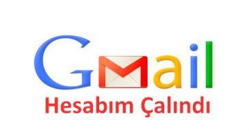 gmail hesabım çalındı nasıl alırım