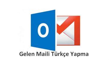 gmail maili türkçe yapmak